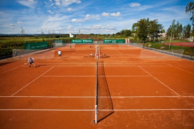 Tenisové kurty na Stadionu Svitavy
